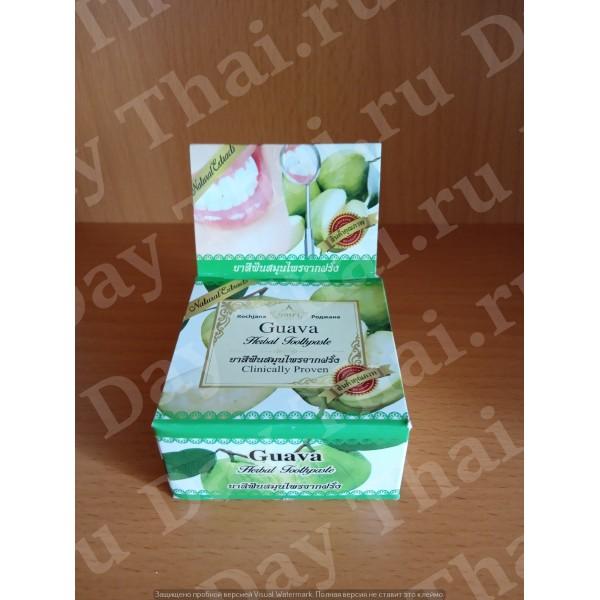 Тайская фруктовая зубная паста для ежедневного применения «Гуава»