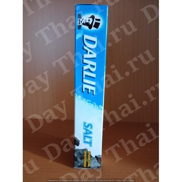 Угольная зубная паста Дарли «Сияние белизны и бамбуковый уголь и соль» 40 грамм