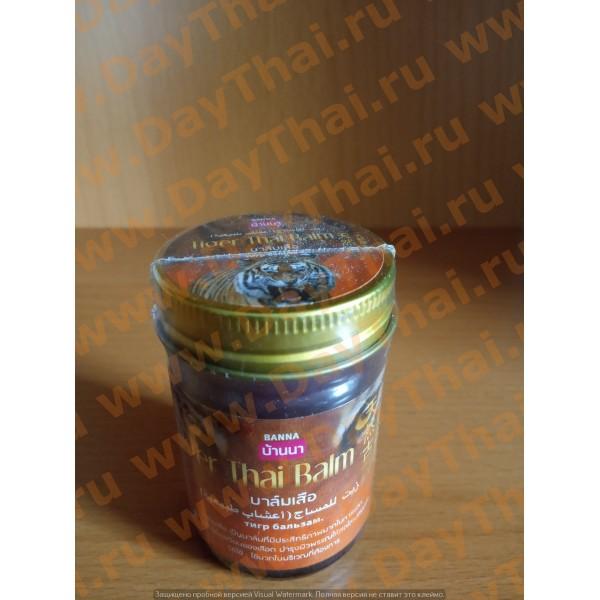 Красный тигровый бальзам Thaiger Thai Balm - Banna (50 гр)