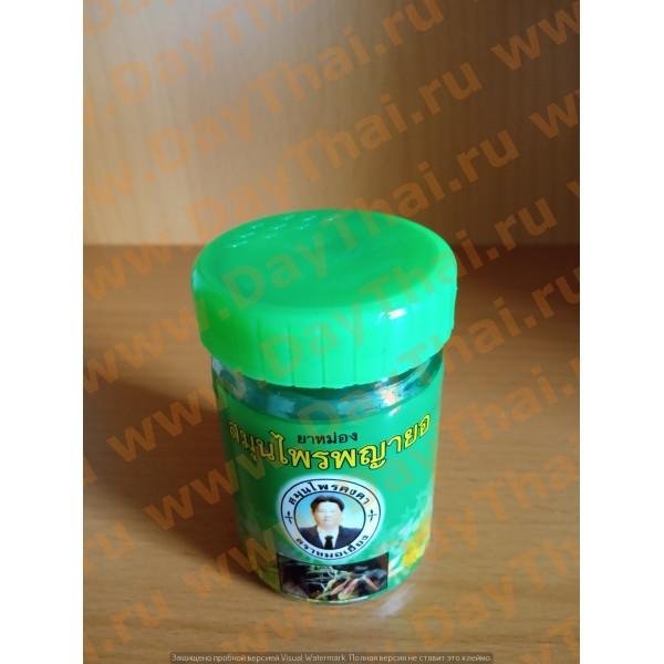 Тайский зеленый бальзам на основе Клинакантуса Kongka Herb, 50 гр