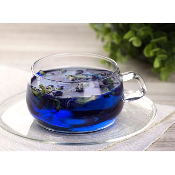 Синий чай из лепестков и листьев  растения Клитория, 50 грамм