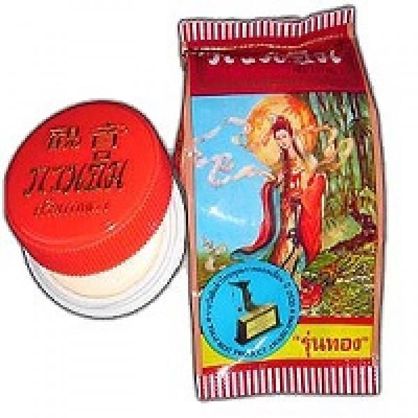 Жемчужный отбеливающий крем для лица Куан Им, 15 гр.