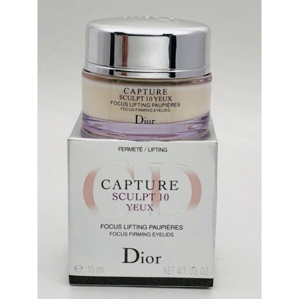 Крем для кожи вокруг глаз Dior Capture Sculpt 10, 15 мл