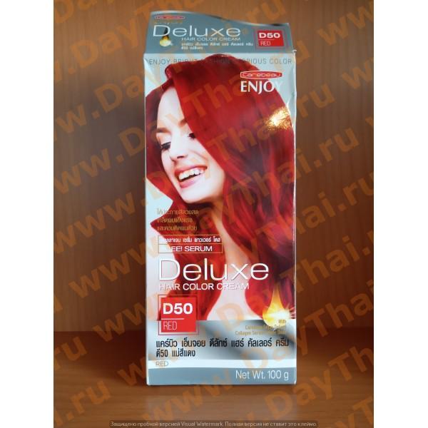 Крем-краска для волос Carebeau Enjoy Deluxe Color Cream , 50 (red) 100 гр