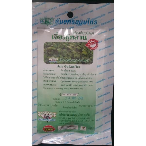 Чай Джиагулан в фильтр пакетах