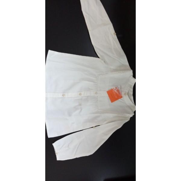 Блуза, 4-5 лет, рукав регулируется