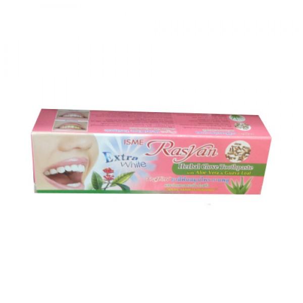 Зубная паста Гвоздика, Алоэ Вера и Гуава ISME Rasyan? 30 гр