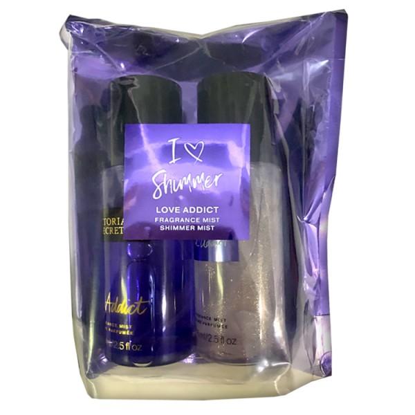 Подарочный набор Victoria's Secret Love Addict, 75 мл * 2