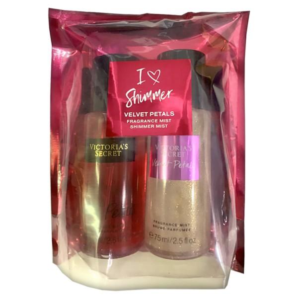 Подарочный набор Victoria's Secret Velvet Petals, 75 мл*2