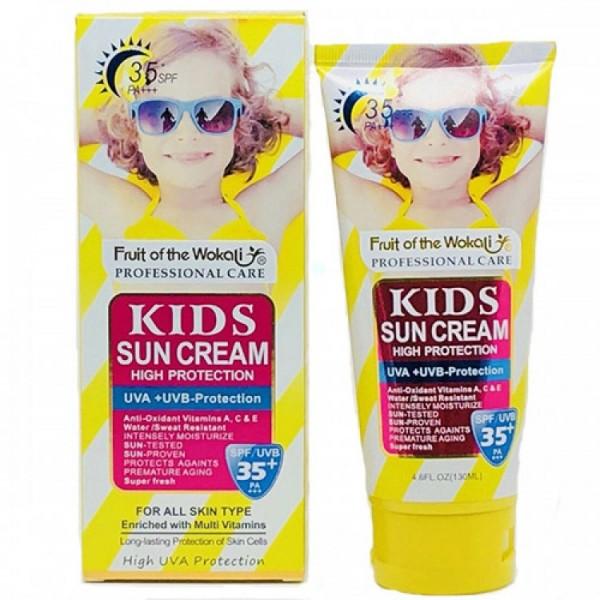 Солнцезащитный крем для детей Wokali SPF, 130 мл