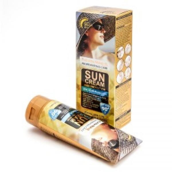 Солнцезащитный крем Wokali SPF 90+, 130 мл